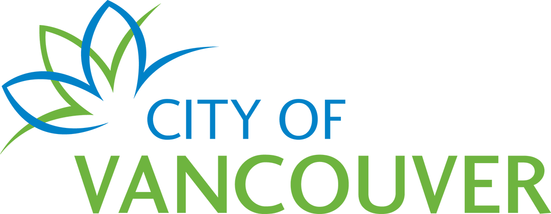 City of Vancouver logo in blue and green